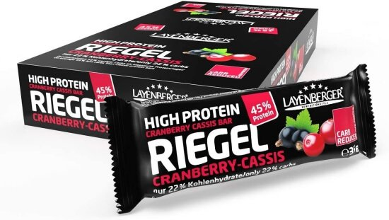 Layenberger LowCarb.one Cranberry Cassis