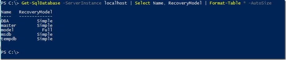 PowerShell-Get-SqlDatabase
