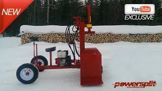 Powersplit Self-Propelled Wood Splitter Buggy