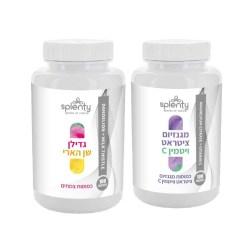 מארז ויטמינים שן הארי וגדילן + מגנזיום ציטראט ויטמין C