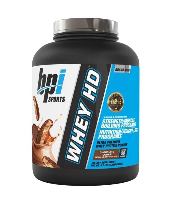 זוג אבקות חלבון bpi 1.8 ו-3 חטיפי חלבון