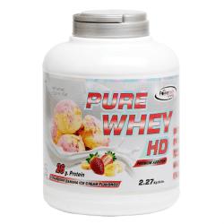 """אבקת חלבון 2.27 ק""""ג פיור וואי במגוון טעמים – PowerTech Nutrition"""