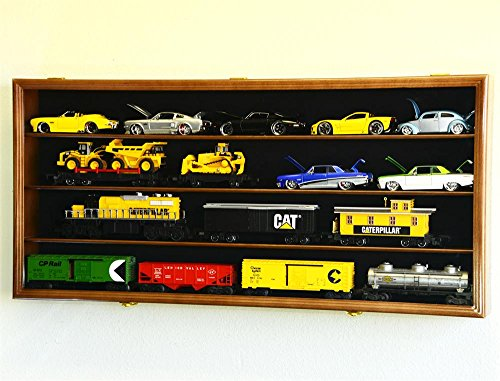 124-Scale-Diecast-Car-Display-Case-Cabinet-w-Glass-Door-0