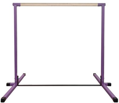 4ft-Purple-Horizontal-Bar-and-6ft-Pink-Folding-Gym-Mat-0-0