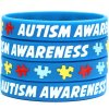 50-Autism-Awareness-Wristbands-Colorful-Puzzle-Pieces-Silicone-Bracelets-0