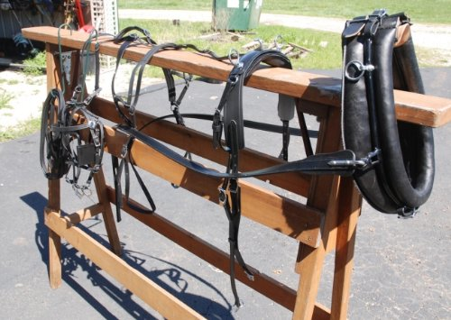 Amish-Beta-Miniature-Horse-Harness-with-Collar-Hames-0