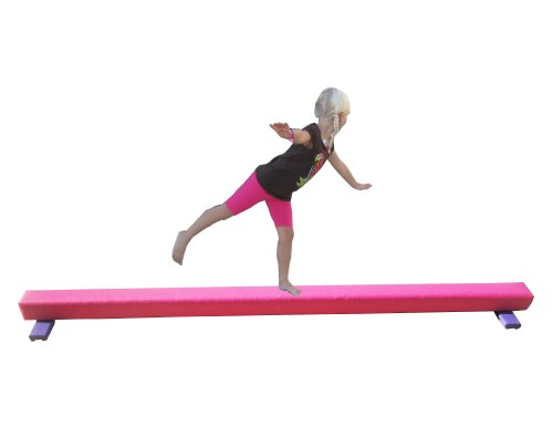 Balance-Beam-Pink-8-Foot-Long-65-High-0