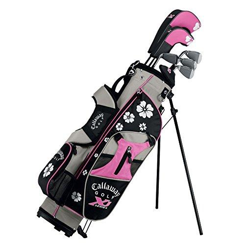 Callaway-XJ-Junior-11-Piece-Girls-Golf-Club-Set-9-12-Years-Old-Left-Hand-0