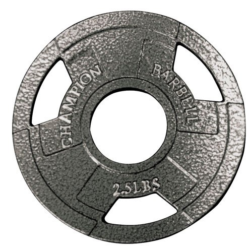 Champion-Barbell-Olympic-Grip-Plate-0