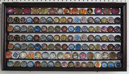 CollectibleChallenge-Coin-Display-Case-Wall-Cabinet-Shadow-Box-with-Mirror-Background-COIN4M-MA-0