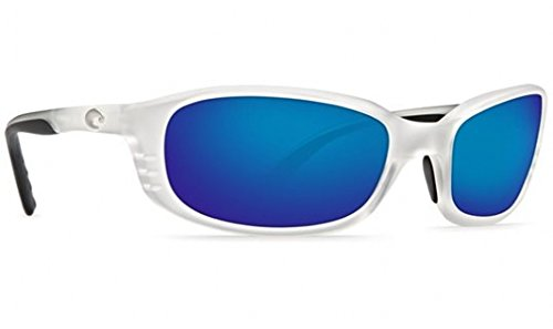 Costa-Del-Mar-Sunglasses-Brine-Glass-Frame-Matte-Crystal-Lens-Polarized-Blue-Mirror-Glass-Wave-580-0