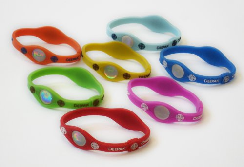 Deepak-Chopras-Leela-Holographic-Negative-Ion-Chakra-performance-wristbands-7-Chakra-Colors-0