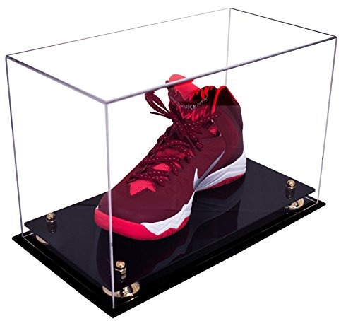 Deluxe-Acrylic-Large-Shoe-Display-Case-for-Basketball-Shoes-Soccer-Cleats-Football-Cleats-and-More-with-UV-Protection-0