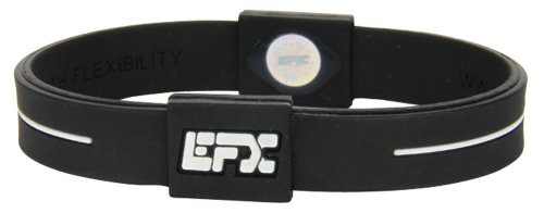 EFX-Silicone-Sport-Bracelet-7-Inch-BlackWhite-0