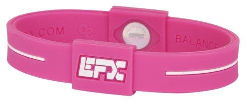 EFX-Silicone-Sport-Bracelet-7-Inch-PinkWhite-0