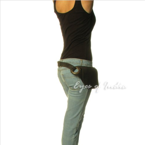 EYES-OF-INDIA-LEATHER-BELT-HIP-WAIST-BUM-BAG-POUCH-Fanny-Pack-Utility-Pocket-Travel-Phone-0-0