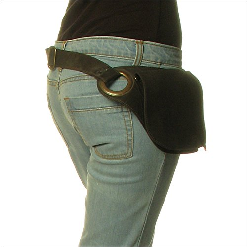EYES-OF-INDIA-LEATHER-BELT-HIP-WAIST-BUM-BAG-POUCH-Fanny-Pack-Utility-Pocket-Travel-Phone-0