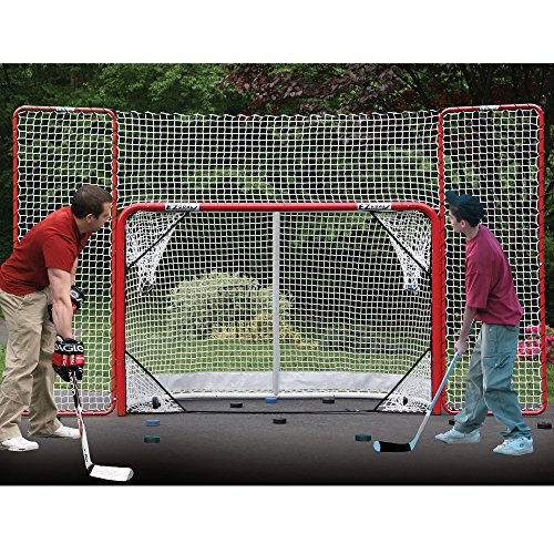 EZGoal-Hockey-Folding-Pro-Goal-with-Backstop-and-Targets-2-Inch-RedWhite-0-1