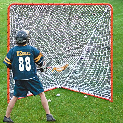 EZGoal-Lacrosse-Folding-Goal-6-x-6-Feet-Orange-0