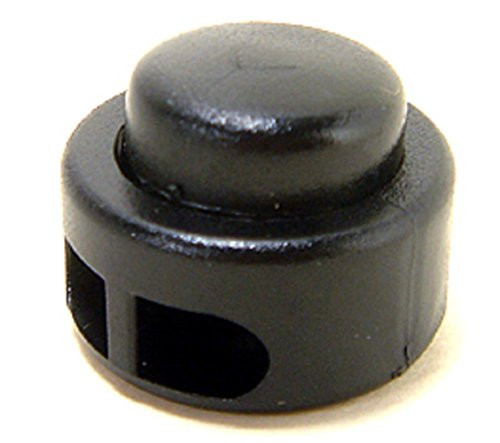 FMS-Double-Hole-Kettle-Drum-Cord-Lock-Plastic-Spring-Stop-Toggle-Stoppers-0-1