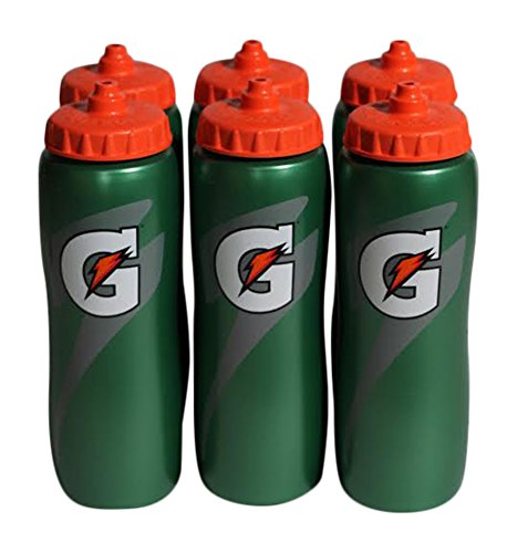 Gatorade-32-Oz-Squeeze-Water-Sports-Bottle-Value-Pack-of-6-New-Easy-Grip-Design-for-2014-0