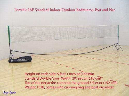 Genji-Sports-Portable-Indoor-Badminton-Outdoor-Post-and-Net-Set-0-1