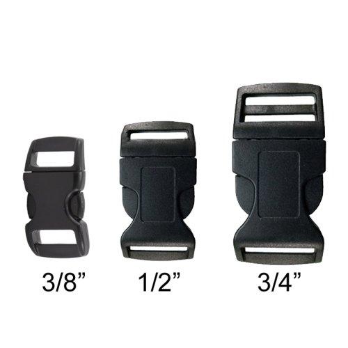 Gorilla-Paracord-Black-Plastic-Contoured-Side-Release-Buckles-for-Survival-Paracord-Bracelets-0