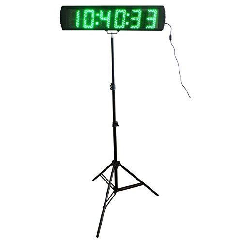 Green-Color-Portable-5-Inch-LED-Race-Timing-Clock-for-Running-Events-LED-Countdownup-Timer-0-0