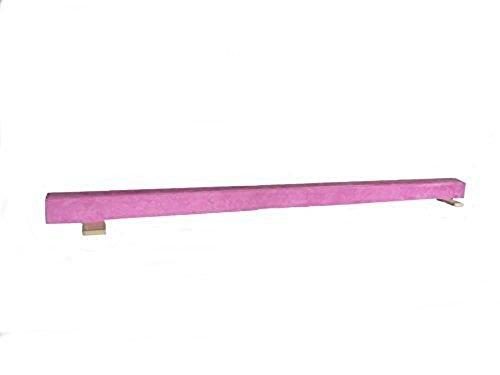 Gymnastic-WOOD-Balance-Beam-8ft-Balance-Beam-PINK-0