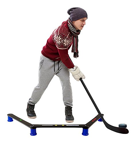 Hockey-Revolution-Stickhandling-Training-Aid-Equipment-for-Puck-Control-Reaction-Time-and-Coordination-MY-ENEMY-MINI-0