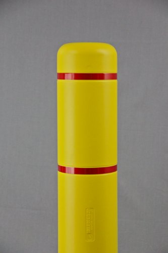 Innoplast-7-x-52-71-ID-Bollard-Cover-Yellow-with-No-Reflective-0-1
