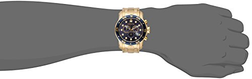 Invicta-Mens-0073-Pro-Diver-Collection-Chronograph-18k-Gold-Plated-Watch-with-Link-Bracelet-0-1