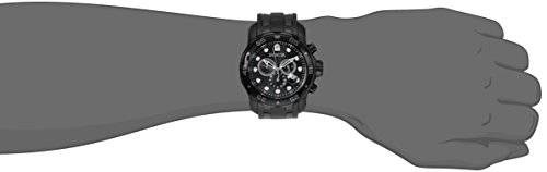 Invicta-Mens-0076-Pro-Diver-Collection-Chronograph-Black-Ion-Plated-Stainless-Steel-Watch-0-1