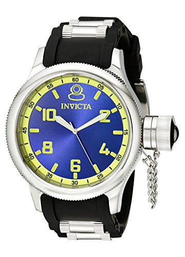 Invicta-Mens-1434-Russian-Diver-Blue-Dial-Stainless-Steel-Watch-0