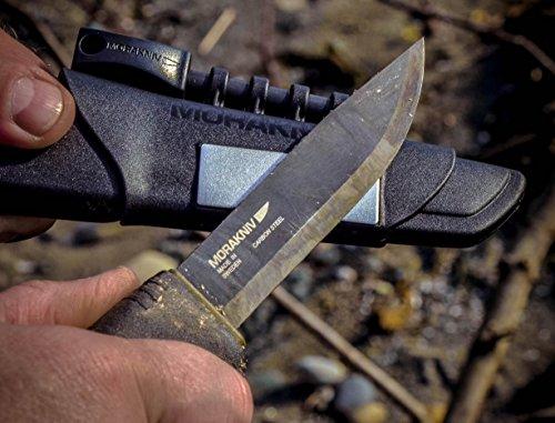 Morakniv-Bushcraft-Carbon-Steel-Survival-Knife-with-Fire-Starter-and-Sheath-Black-0-0