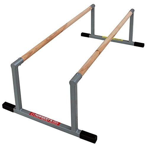 Norberts-Athletic-Products-LPB-416-Gymnastics-Fundamental-Low-P-Bars-0