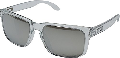 Oakley-Holbrook-Clear-Polarized-Chrome-Iridium-0