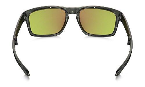 Oakley-Mens-Sliver-F-Polarized-Foldable-Iridium-Rectangular-Sunglasses-0-1