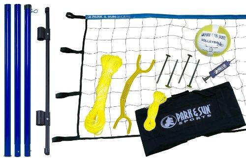 Park-Sun-Spiker-Flex-Steel-Volleyball-Net-Blue-0