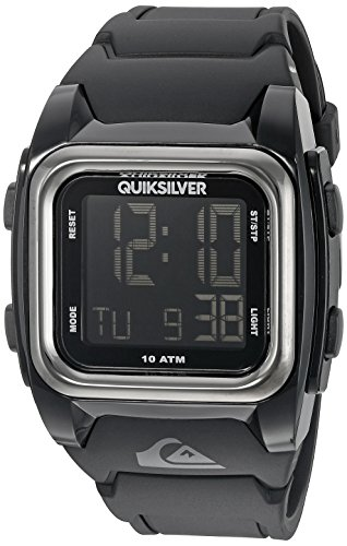 Quiksilver-Mens-QS1020BKBK-The-Grom-Stainless-Steel-Chronograph-Watch-with-Black-Resin-Strap-0