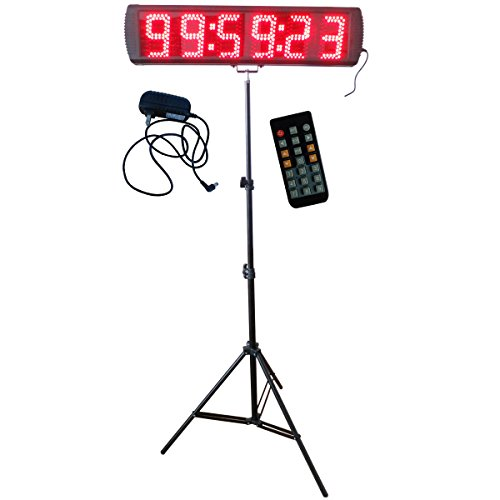 Red-Color-Portable-5-Inch-LED-Race-Timing-Clock-for-Running-Events-LED-Countdownup-Timer-0