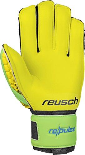 Reusch-Soccer-Pulse-Prime-G2-Ortho-Tec-Goalkeeper-Glove-YellowGreen-Pair-0-0