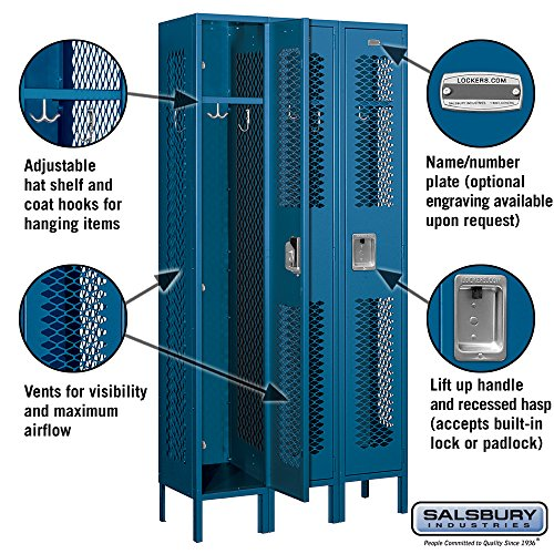 Salsbury-Industries-71362BL-U-Single-Tier-3-Inch-Wide-6-Feet-High-12-Inch-Deep-Unassembled-Vented-Metal-Locker-Blue-0-0