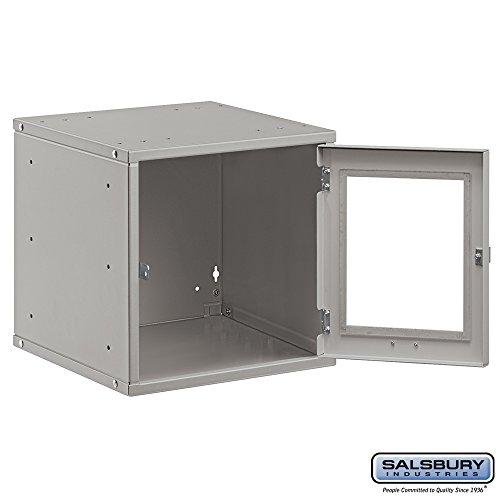 Salsbury-Industries-Modular-Locker-with-Window-Door-12-Inch-Gray-0-0