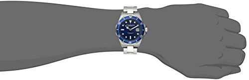 Stuhrling-Original-Aquadiver-Mens-Dive-Watch-Quartz-Analog-Waterproof-Sports-Watch-Blue-Dial-Date-Display-Swim-Wrist-Watch-for-Men-Luminous-Waterproof-Watch-with-Stainless-Steel-Bracelet-82402-0-0