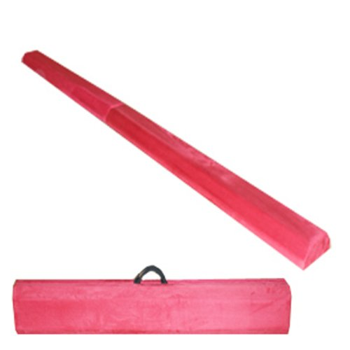 The-Beam-Store-Pink-Folding-Balance-Beam-8-Feet-0