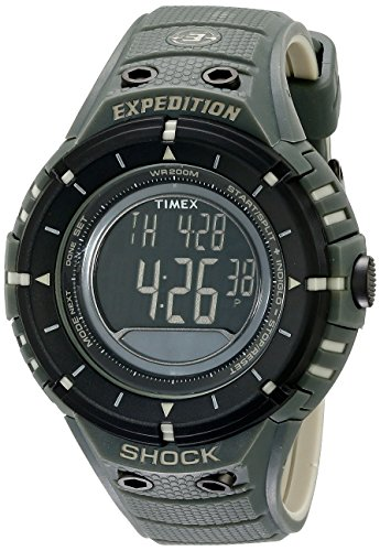 Timex-Mens-T49612-Expedition-Trail-Series-Black-and-Green-Watch-0