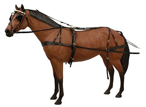 Tough-1-Leather-Pleasure-Driving-Harness-0