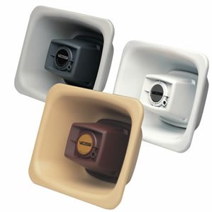Valcom-V-1080-BGE-One-Way-3-watt-Amplified-FlexHorn-with-Mounting-Bracket-Beige-0