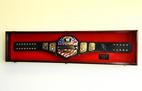 WWE-WWF-WRESTLING-CHAMPIONSHIP-ADULT-SIZE-BELT-DISPLAY-CASE-FRAME-CABINET-BOX-54-0-0